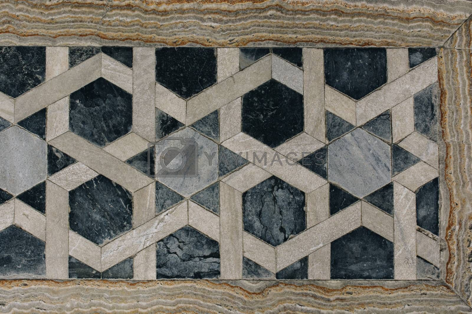 Example of Ottoman art patterns on stone by berkay