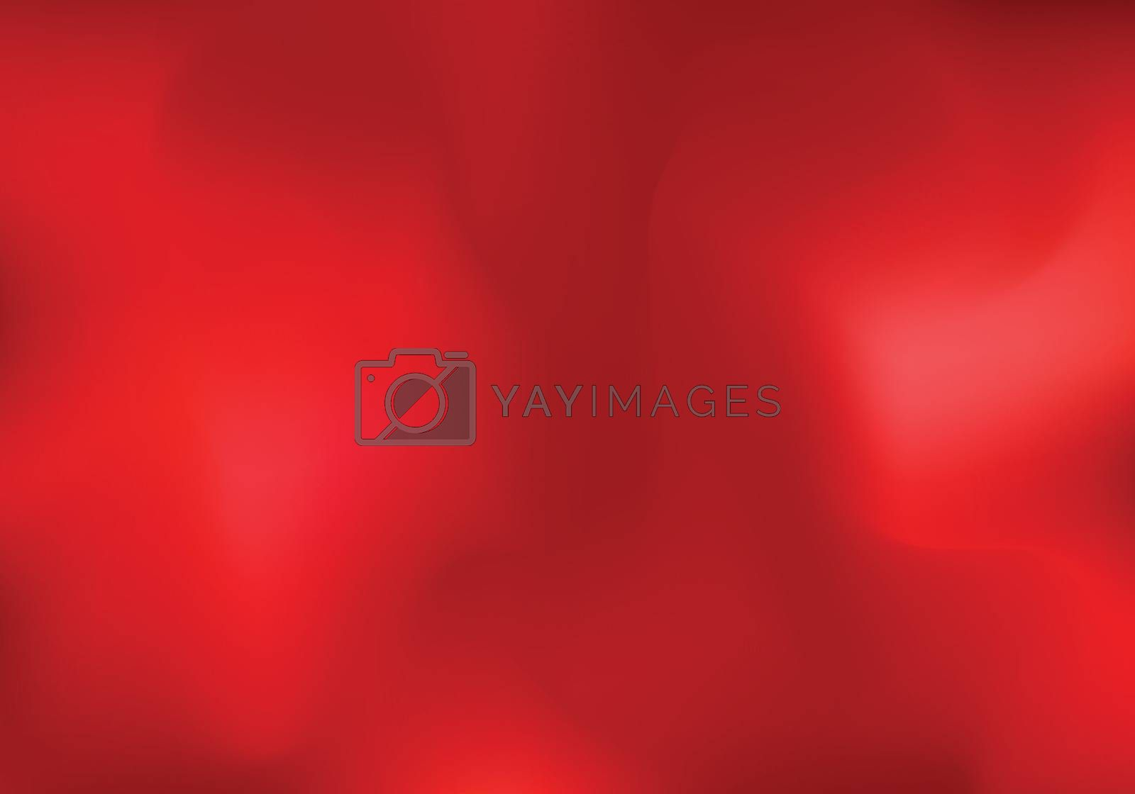Abstract red cloud or smoke background. Blurred gradient horizontal template You can use for wallpaper, banner web, presentation, brochure, poster, ad, etc. Vector illustration