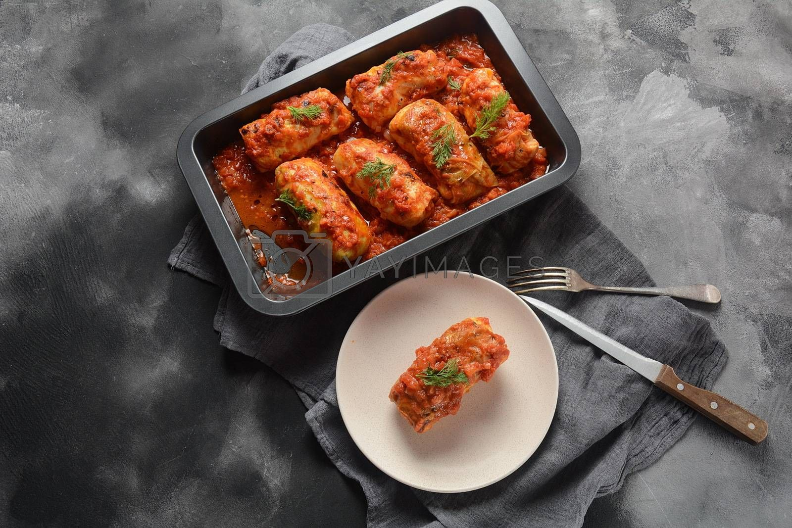 Cabbage rolls by Hanin Nataly