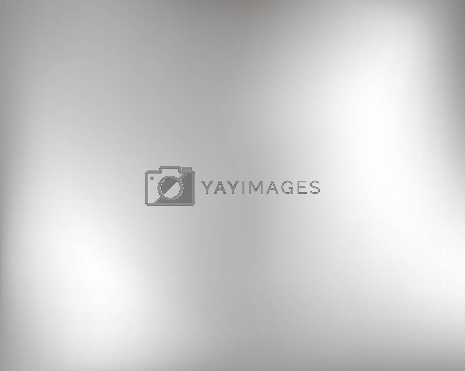Light gray smooth background. Silver metal smooth texture background