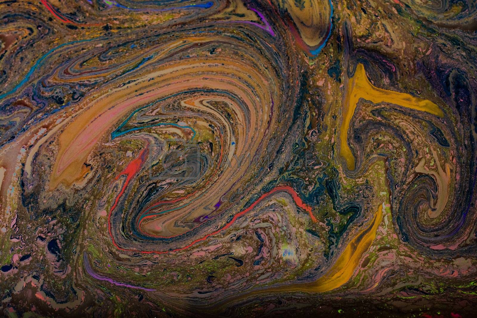 Abstract marbling art patterns as background