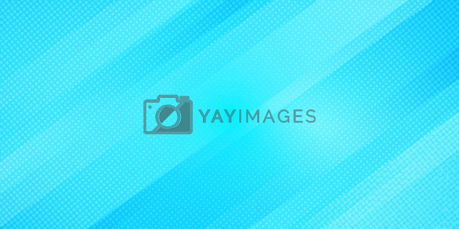 Abstract blue gradient color oblique lines stripes background an by phochi