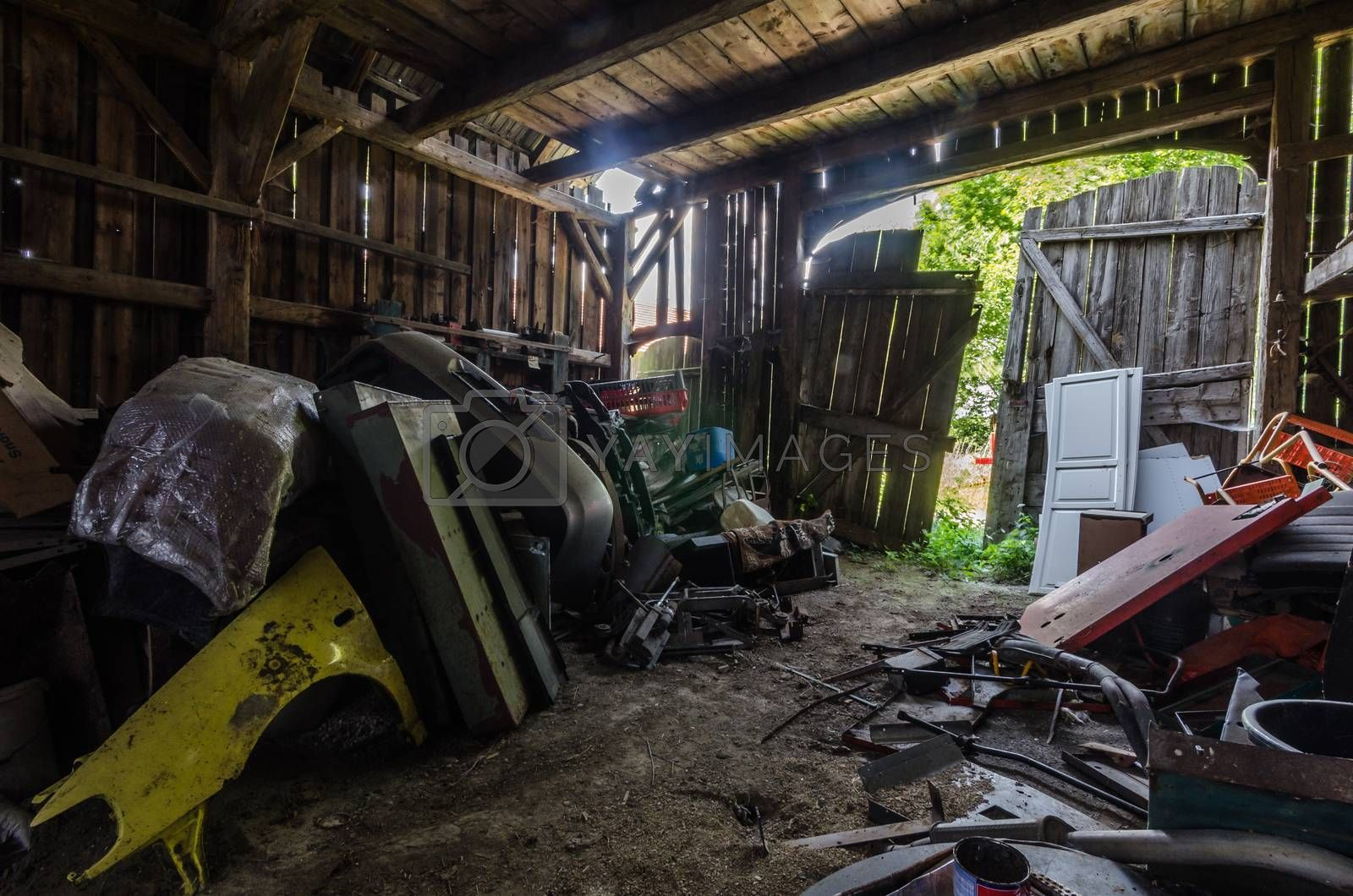 many things in barn by thomaseder