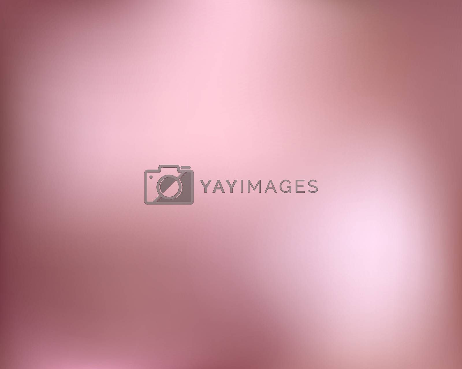 Rose Gold background. Abstract light gold metal gradient. Vector blurred illustration.