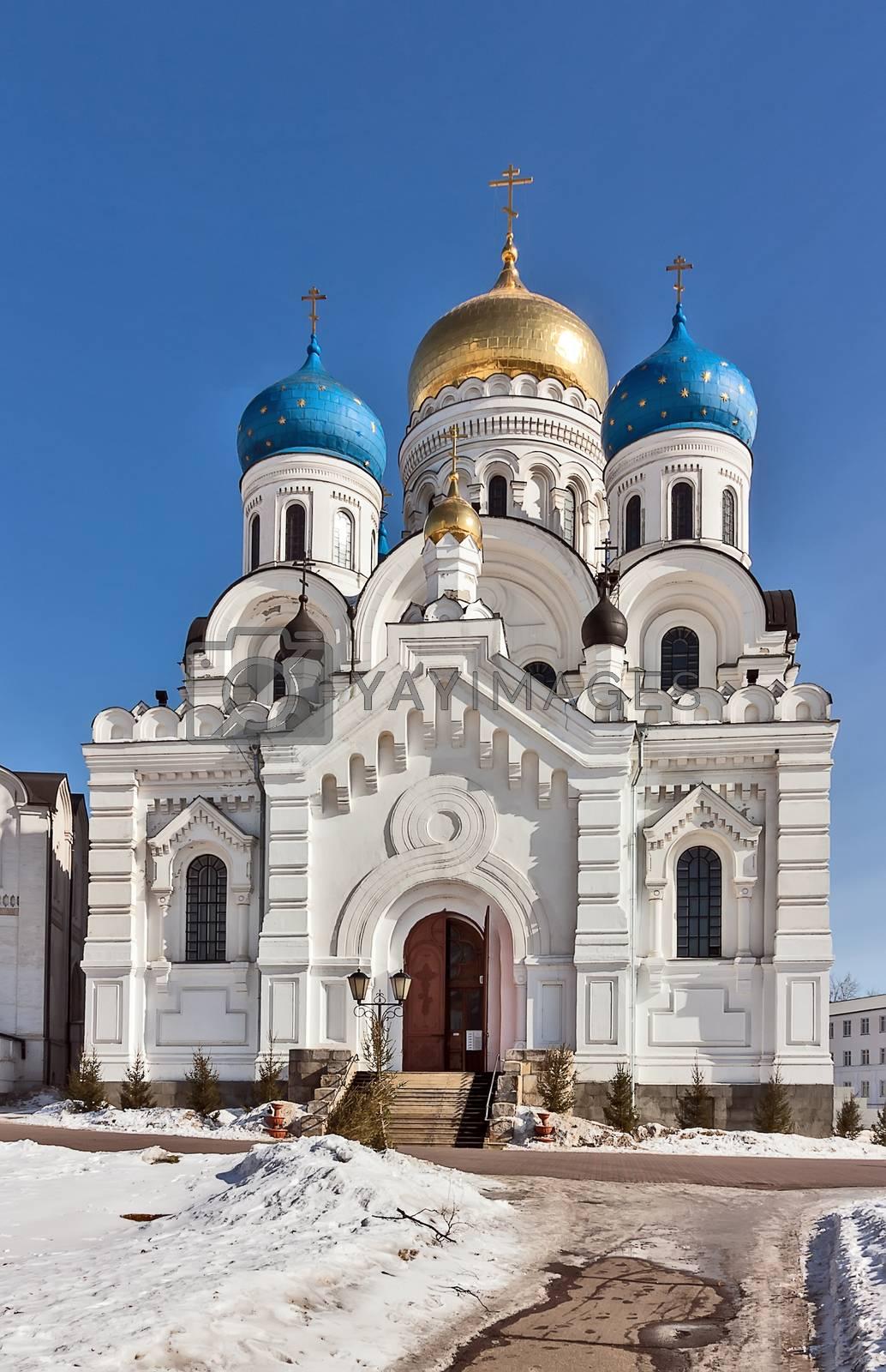 Nikolo-Ugreshsky Monastery, Moscow region, Russia by borisb17