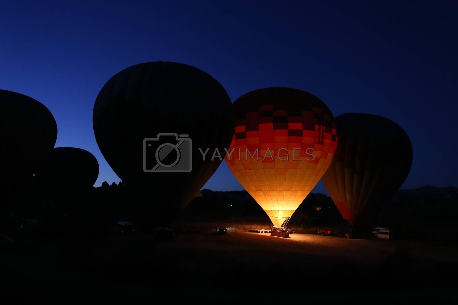 Hot Air Balloons by EvrenKalinbacak