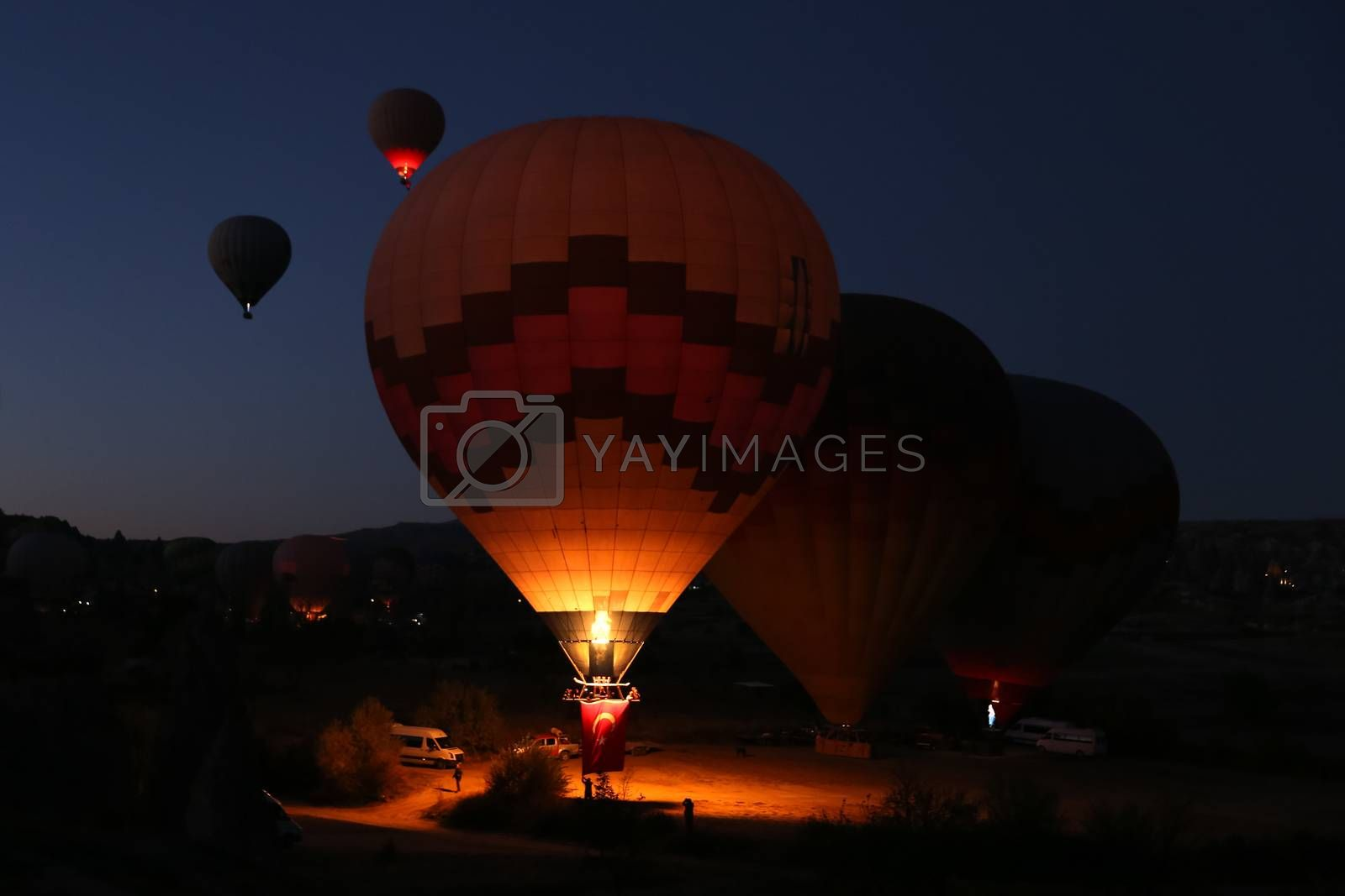 Hot Air Balloons by EvrenKalinbacak