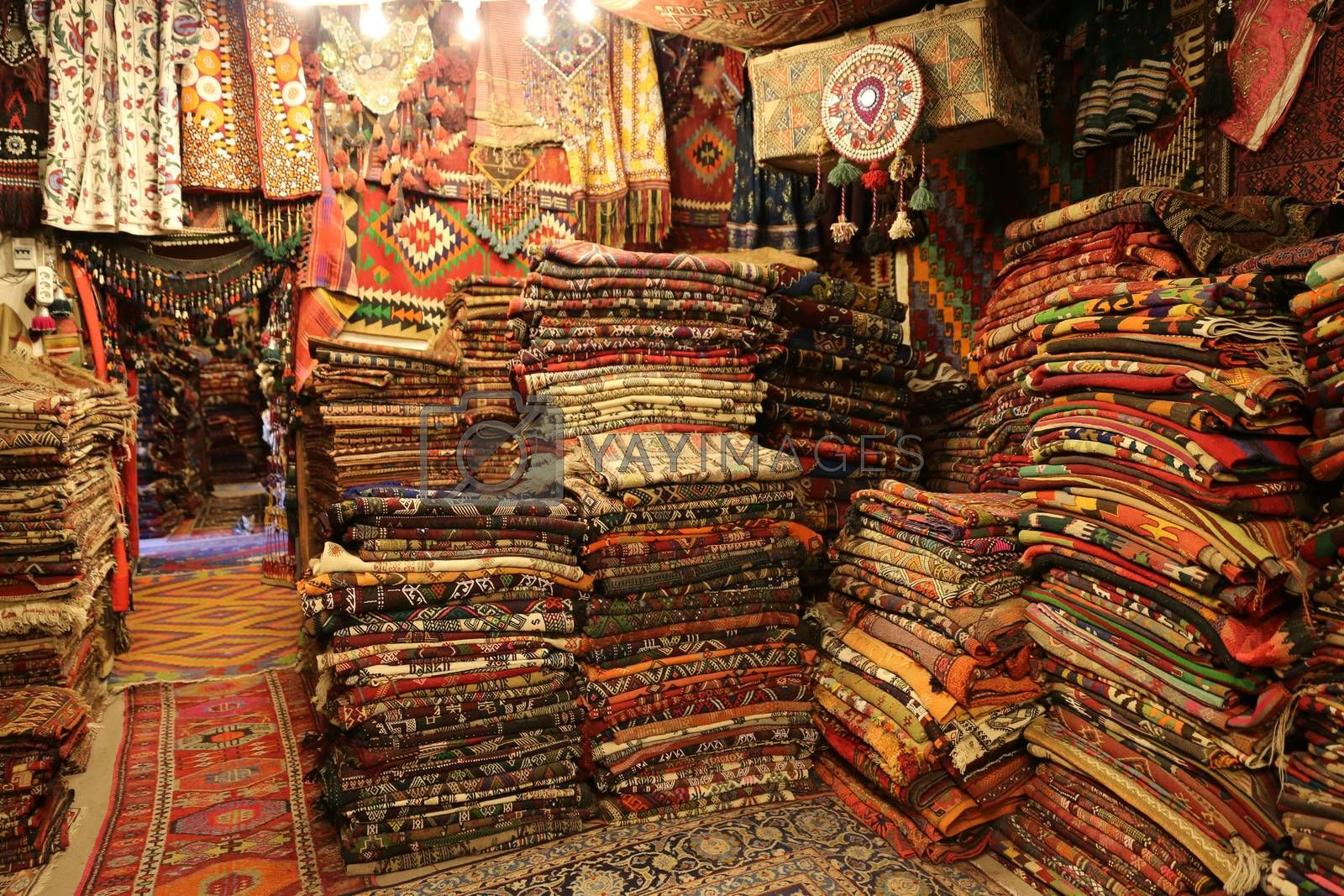Turkish Traditional Carpets in Goreme, Nevsehir, Turkey by EvrenKalinbacak