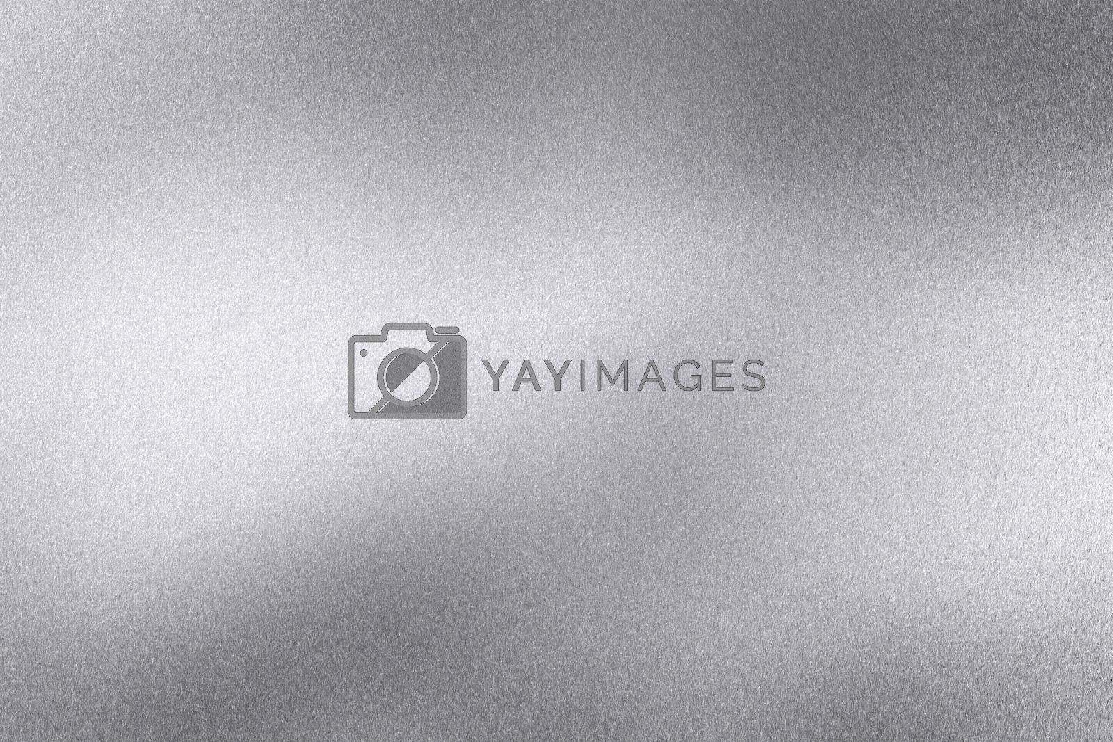 Abstract texture background, rough silver wave metal wall by mouu007
