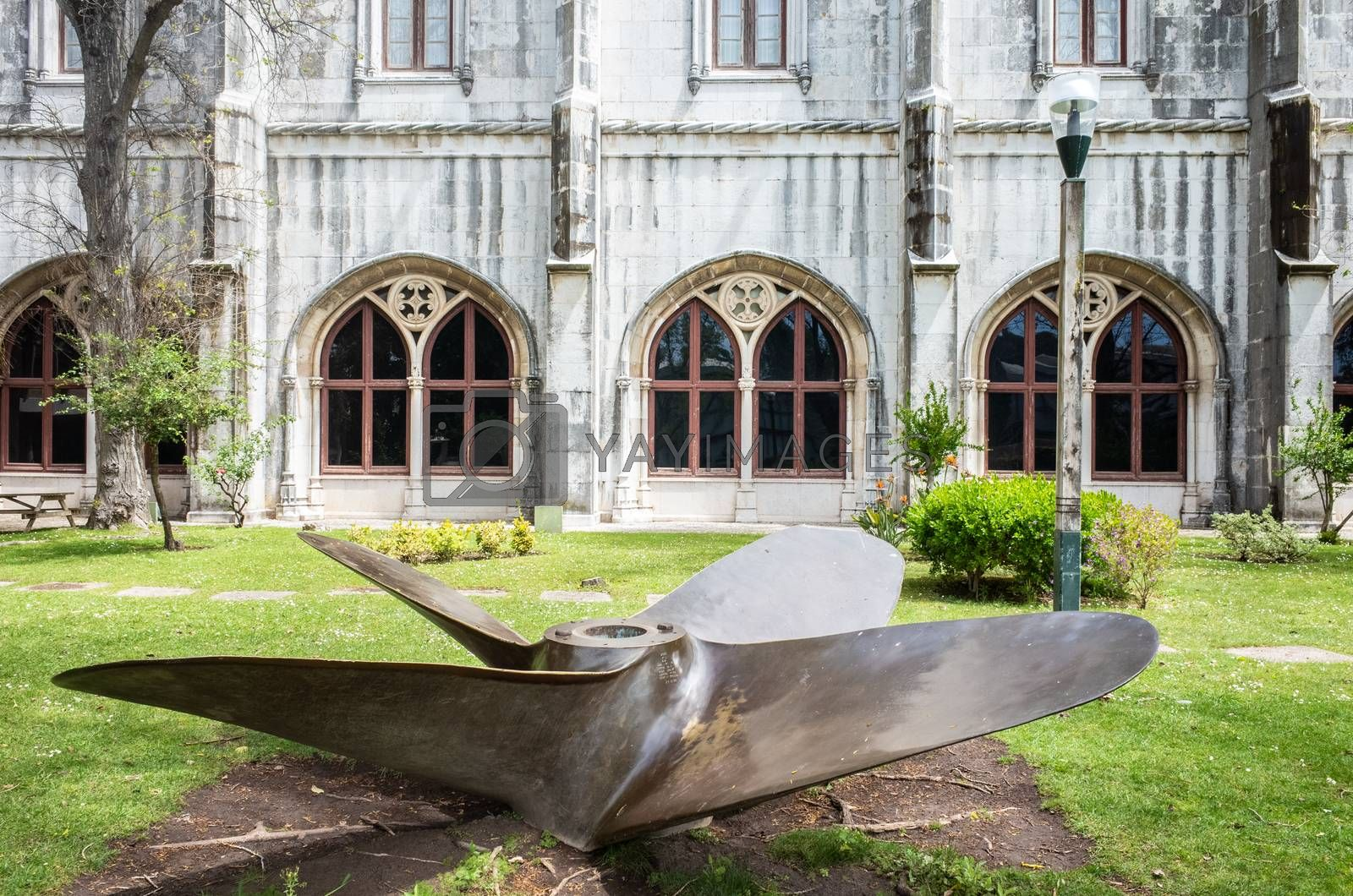 Royalty free image of Outside Maritine Museum in Belem District, Portugal. by kstphotography