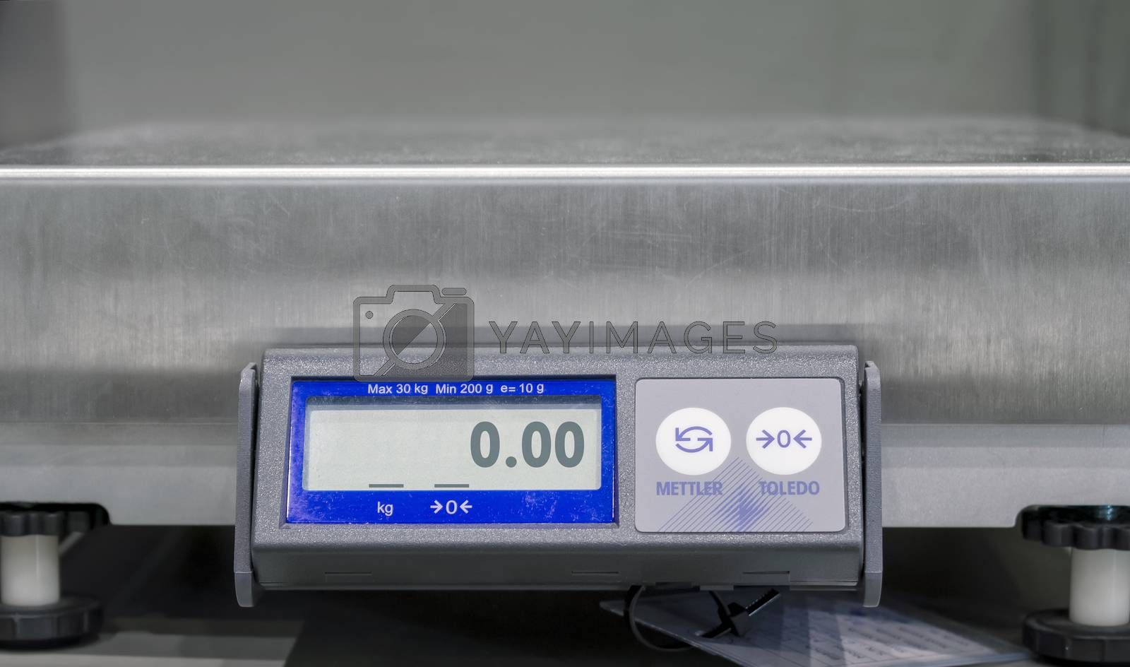Commercial Digital Shipping Weight Scale in the Office