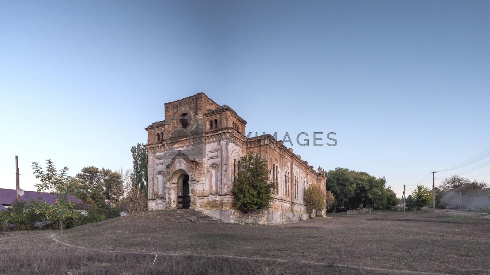Abandoned church in Limanskoye, Ukraine by Sergii Zarev