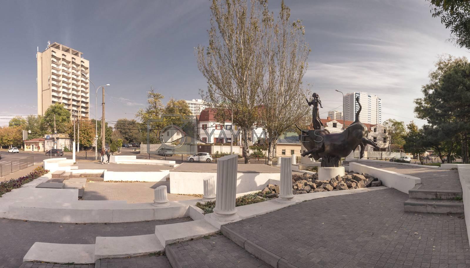 Abduction of Europa Monument in Odessa by Sergii Zarev