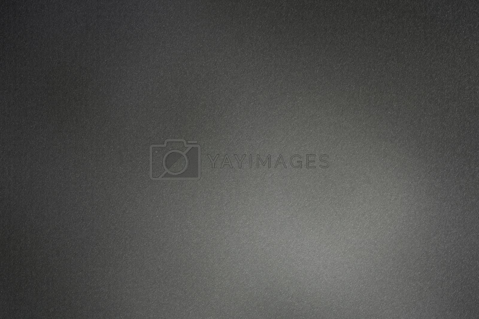 Brushed black metal board surface, abstract texture background by mouu007