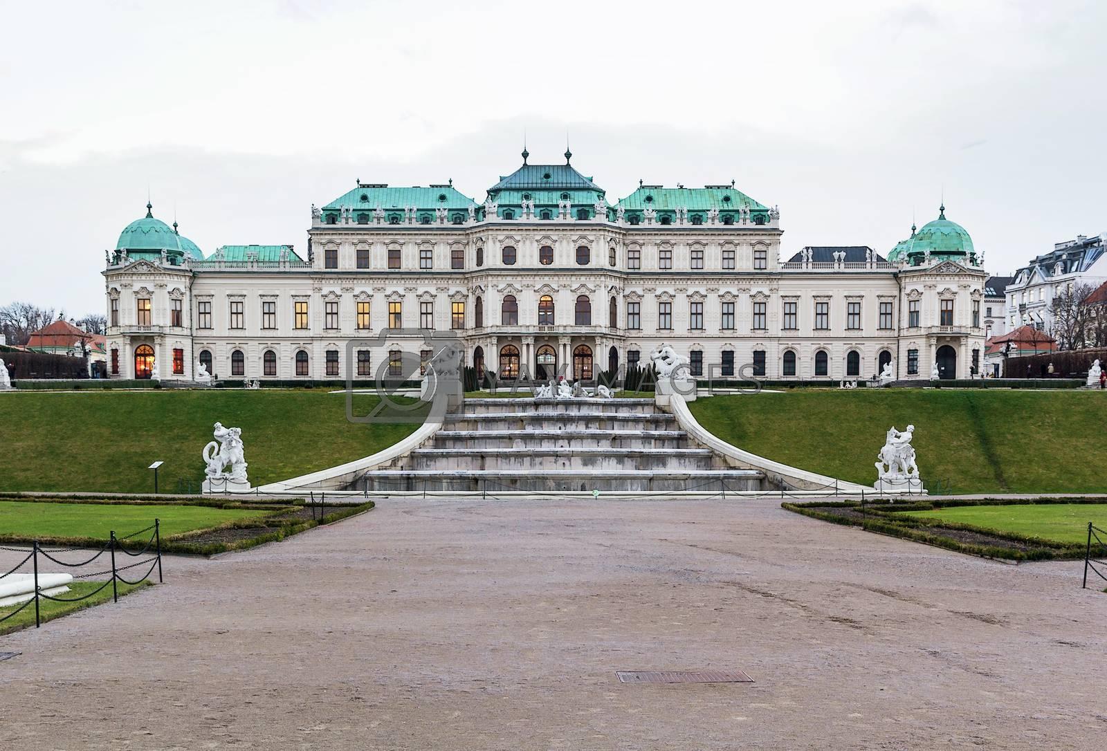 Upper Belvedere palace. Vienna by borisb17