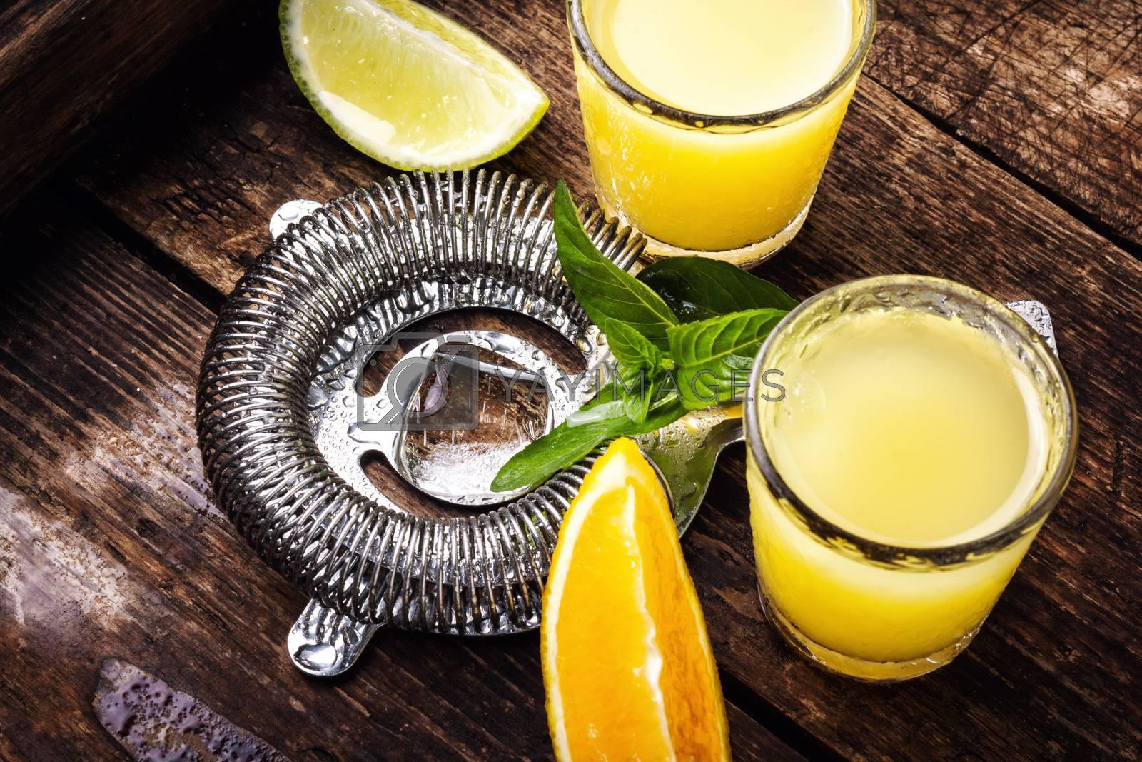 Fresh cocktail drinks by LMykola