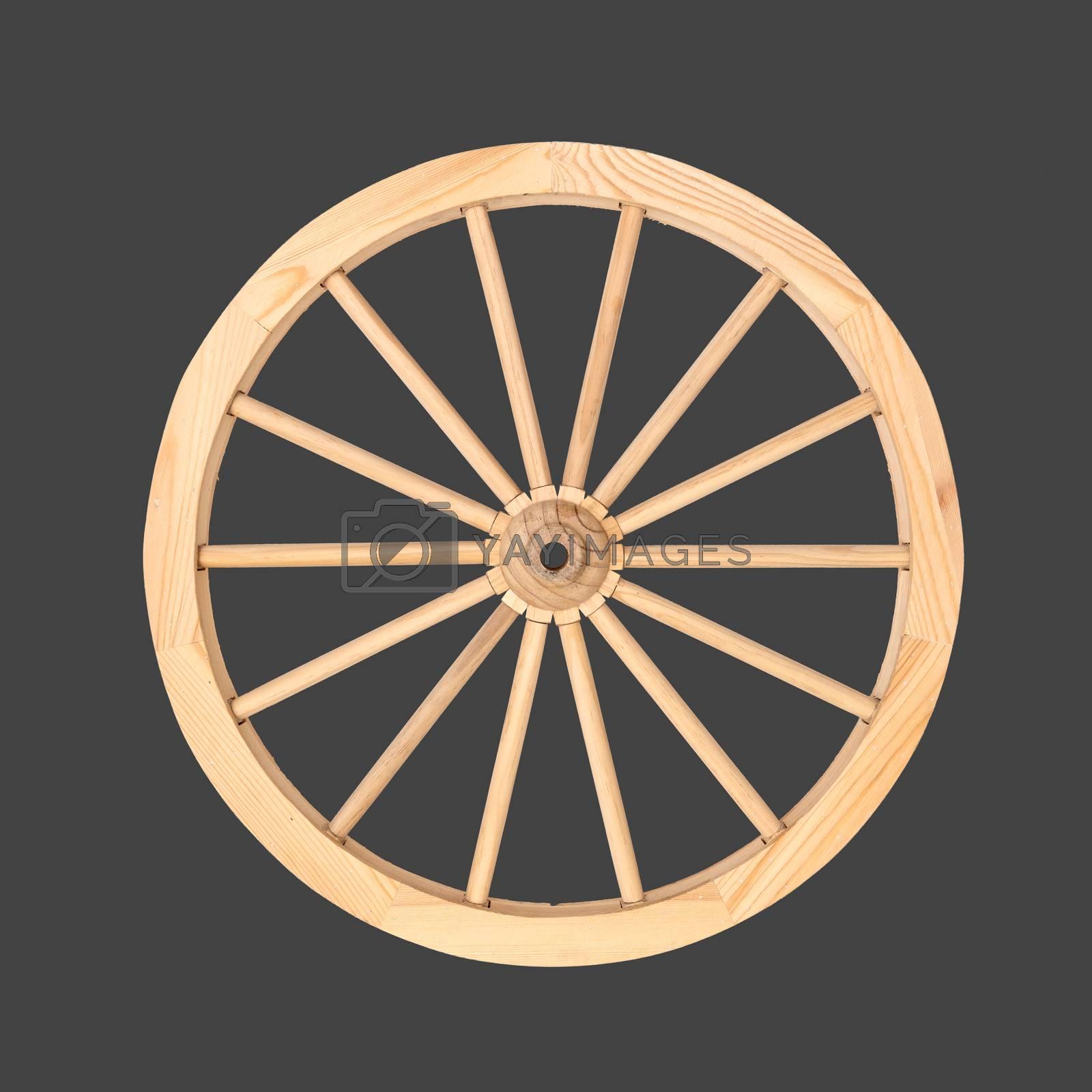 Cart Wheel by Dan Totilca