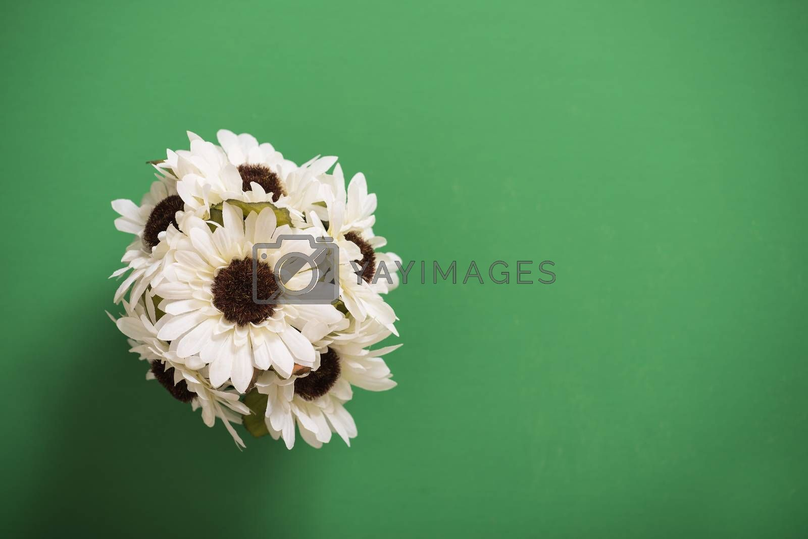 Artificial flower bouquet  by Dan Totilca