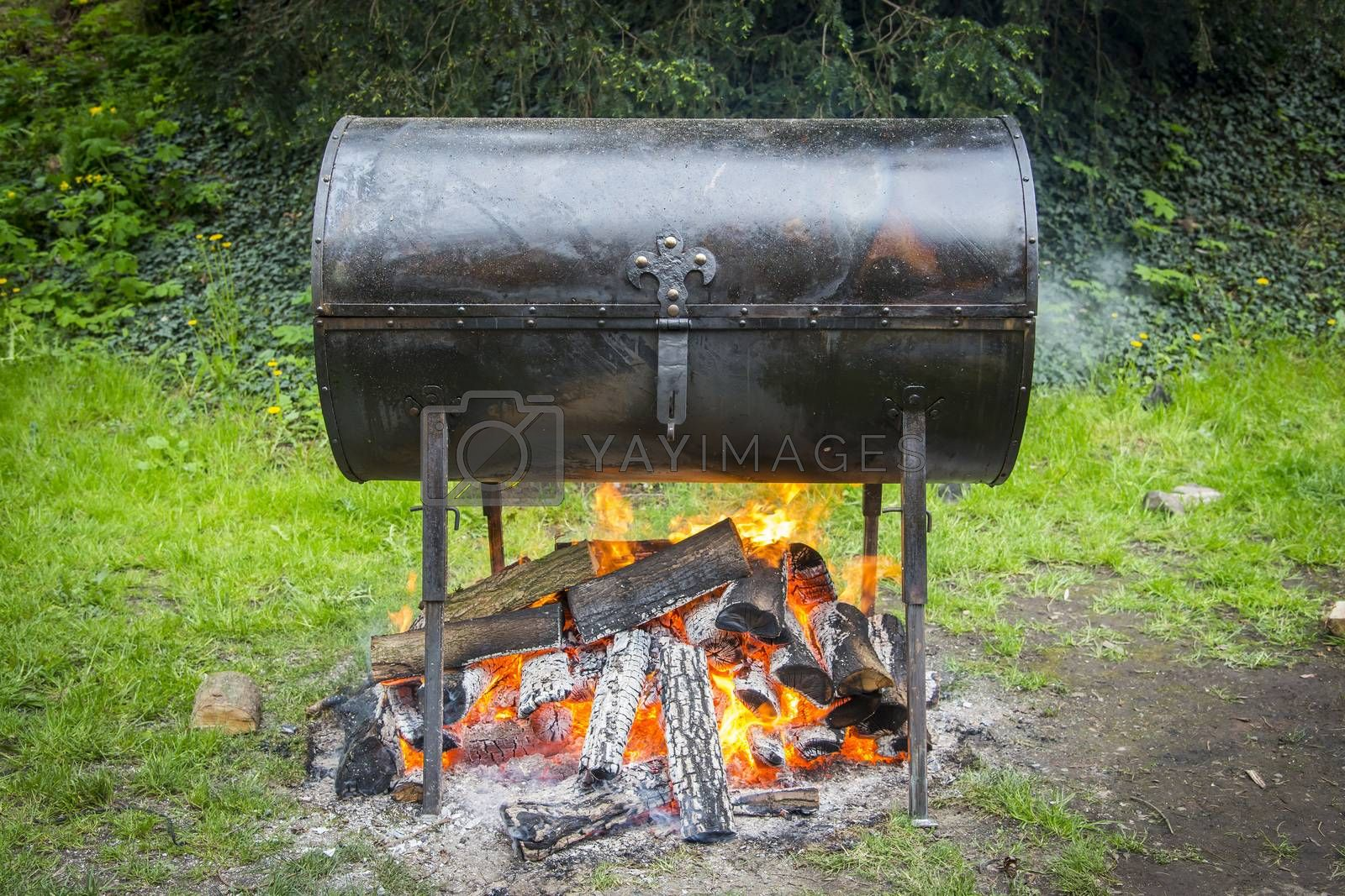 Hot iron grill by furzyk73