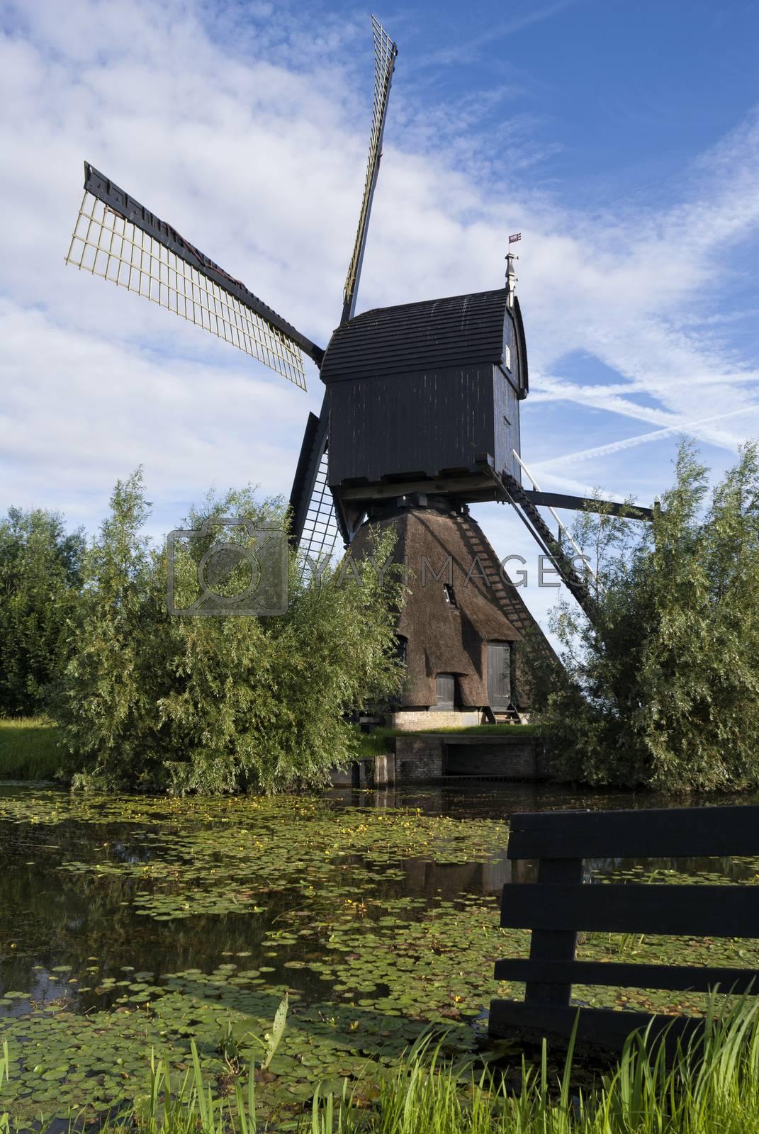 Noordeveldse mill near Dussen by jstuij