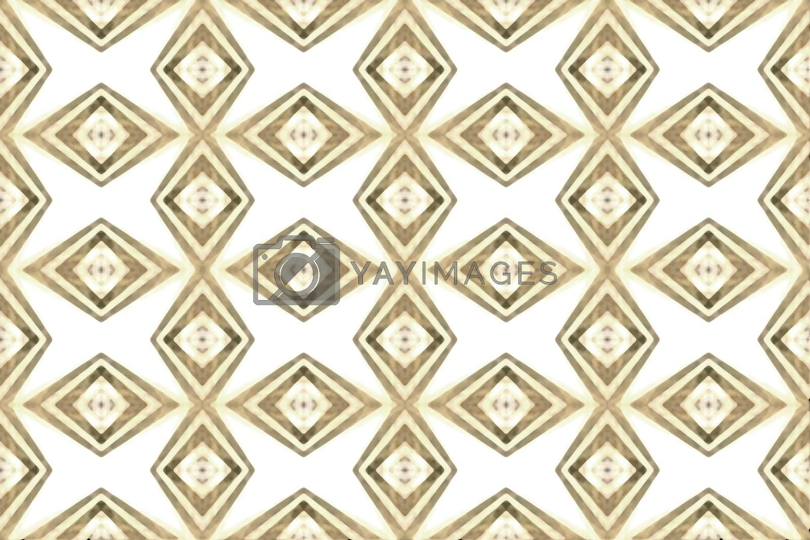 Geometric Seamless Pattern by DanFLCreative