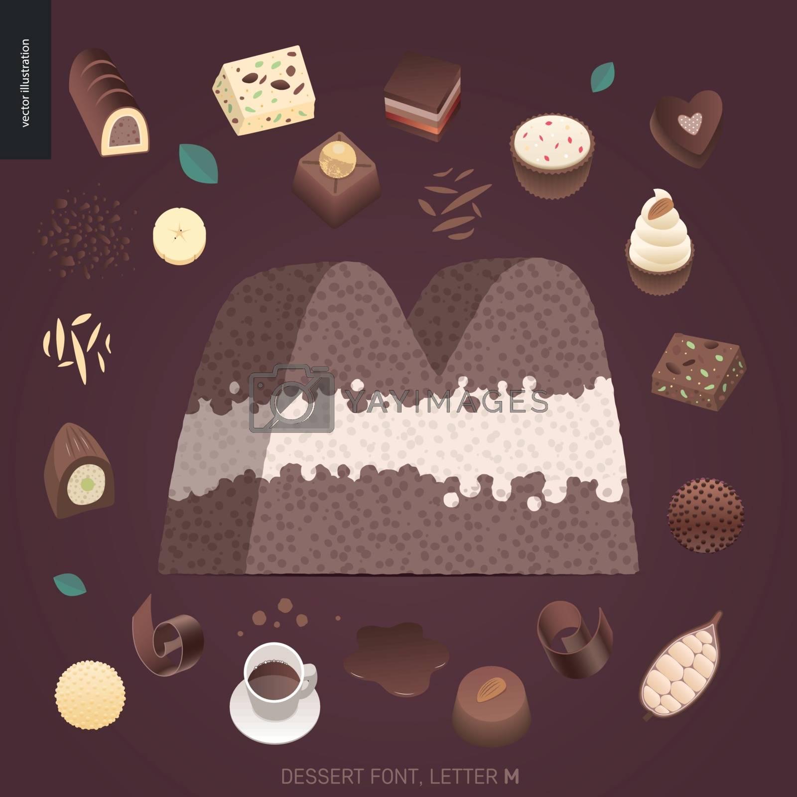Dessert temptation font by grivina