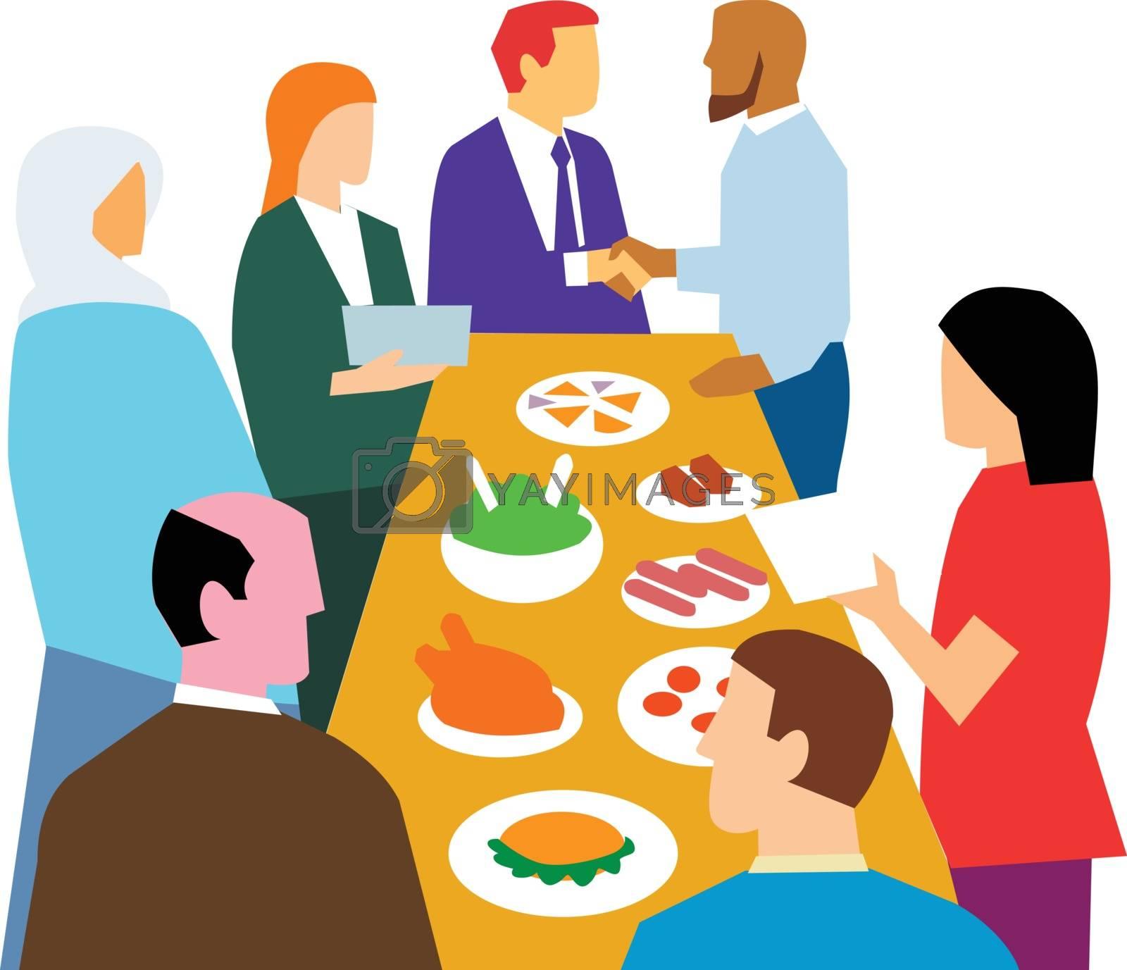 Diversity in Workplace Retro by patrimonio