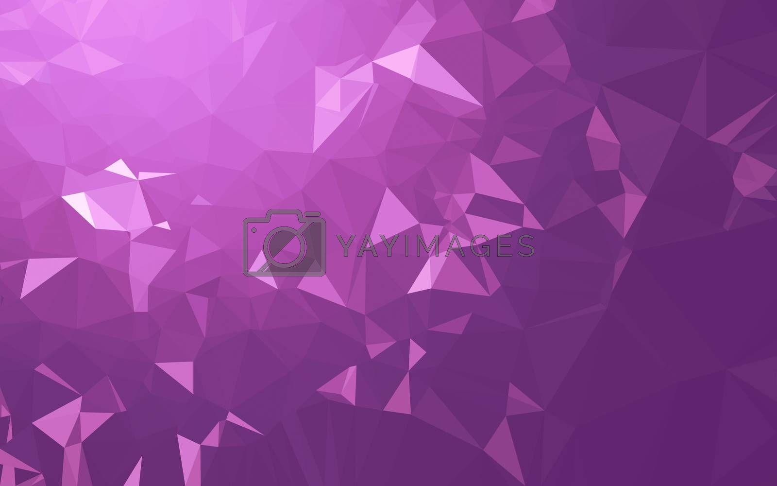 Abstract low poly background, geometry triangle by Teerawit Tj-rabbit
