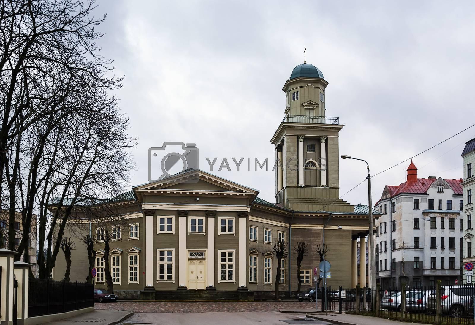 Church of Jesus, Riga by borisb17