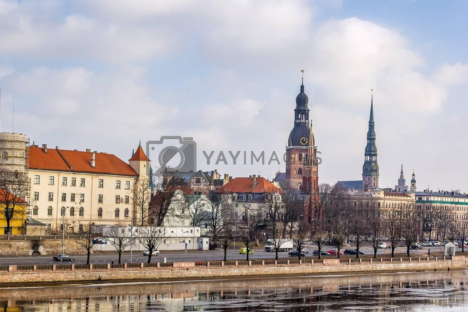 Riga, Latvia by borisb17