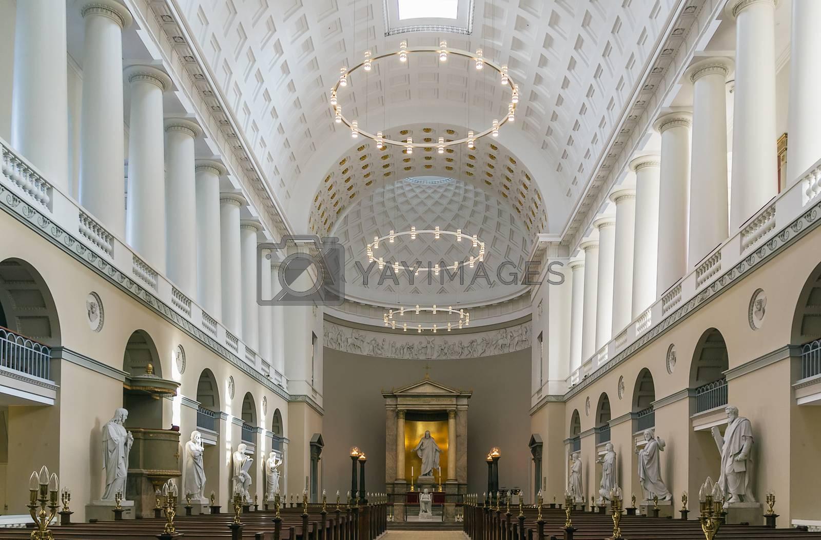 Church of Our Lady, Copenhagen by borisb17