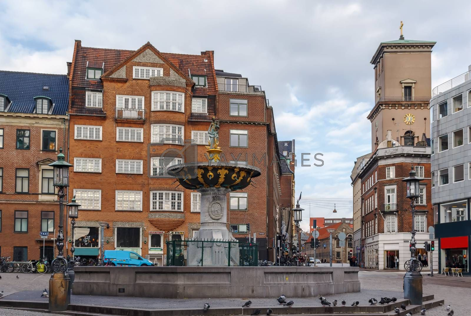 Squere in Copenhagen, Denmark by borisb17