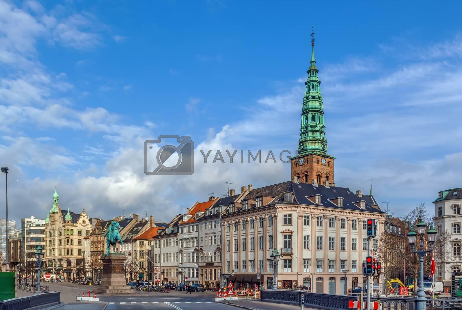 Hojbro Square, Copenhagen by borisb17