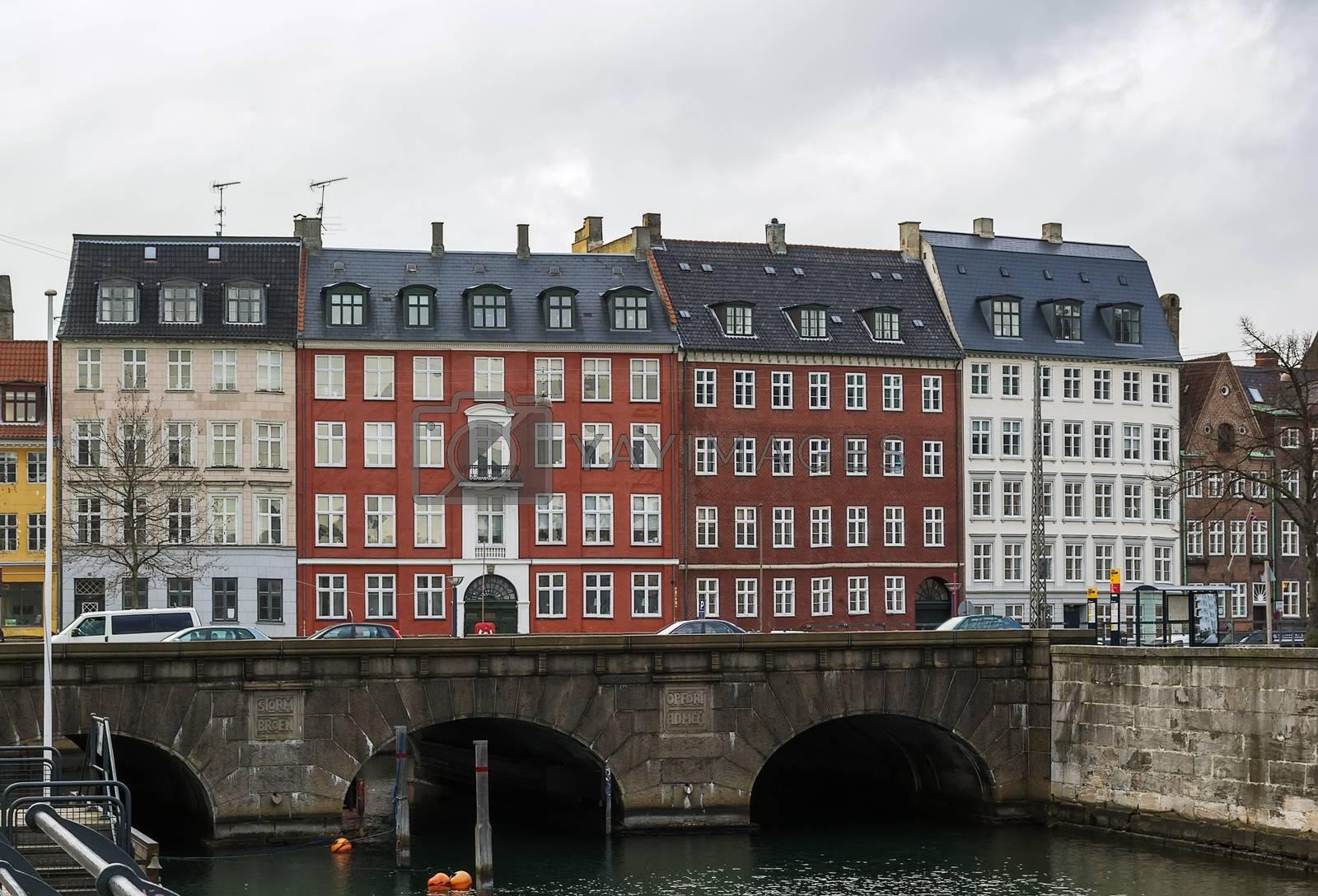 Embankment in Copenhagen by borisb17