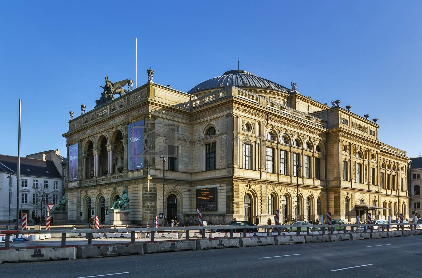 Royal Danish Theatre, Copenhagen by borisb17