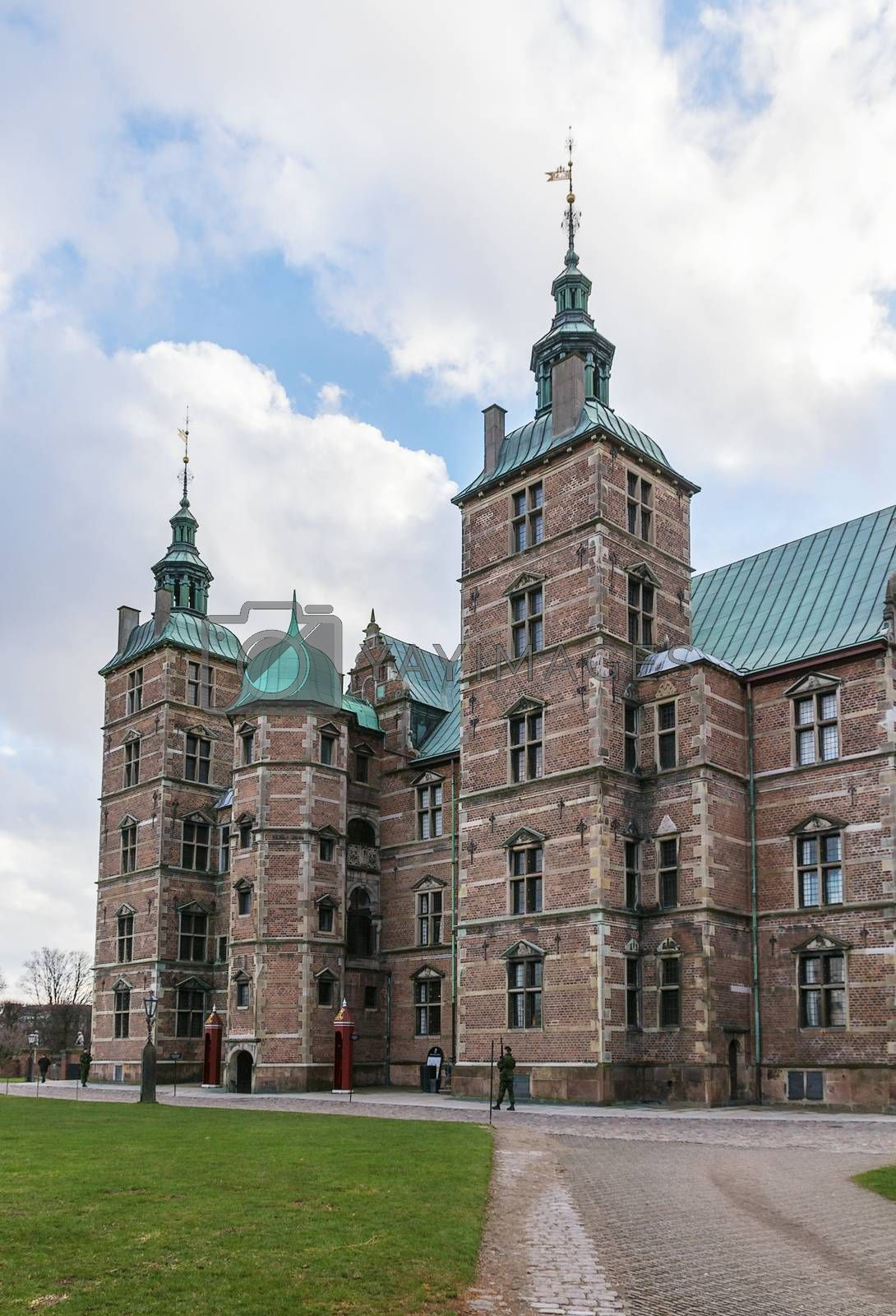 Rosenborg palace, Copenhagen by borisb17