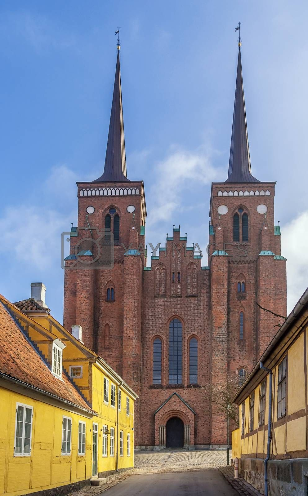Roskilde Cathedral, Denmark by borisb17
