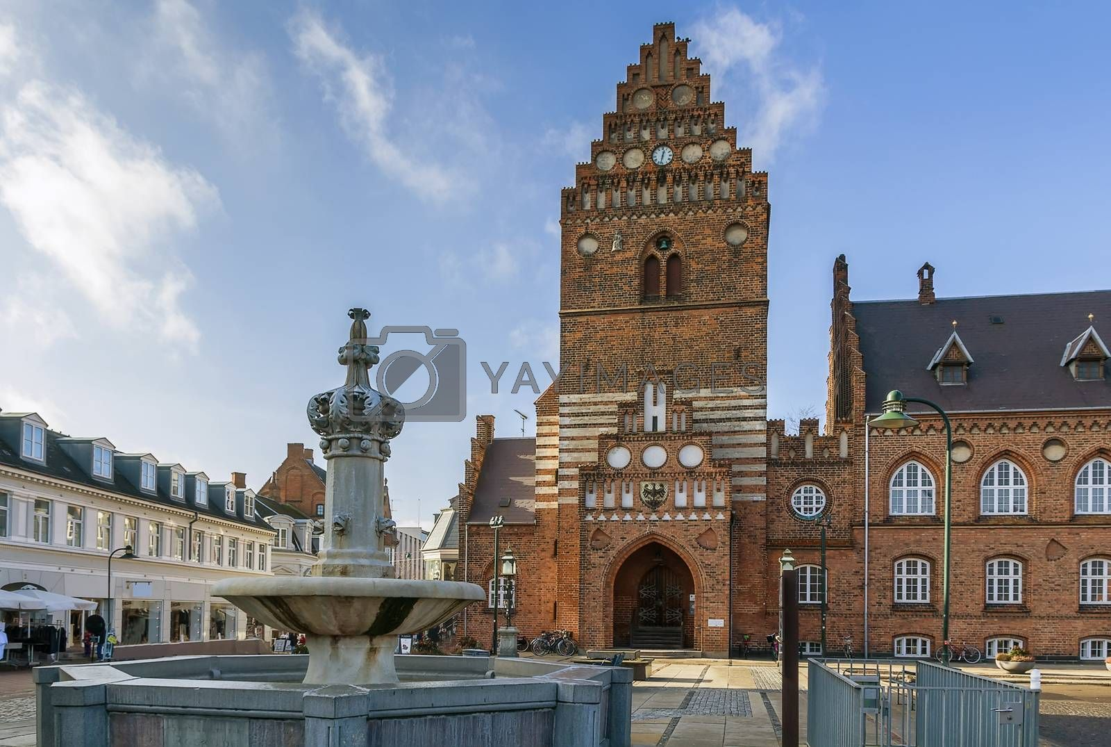 Town hall, Roskilde by borisb17