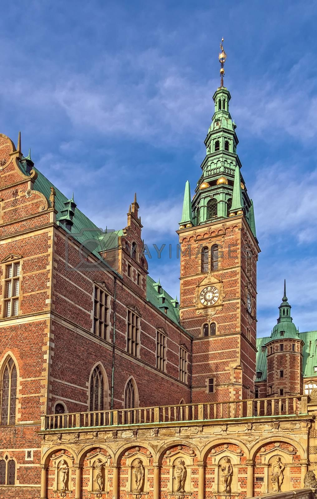 Frederiksborg Palace, Denmark by borisb17