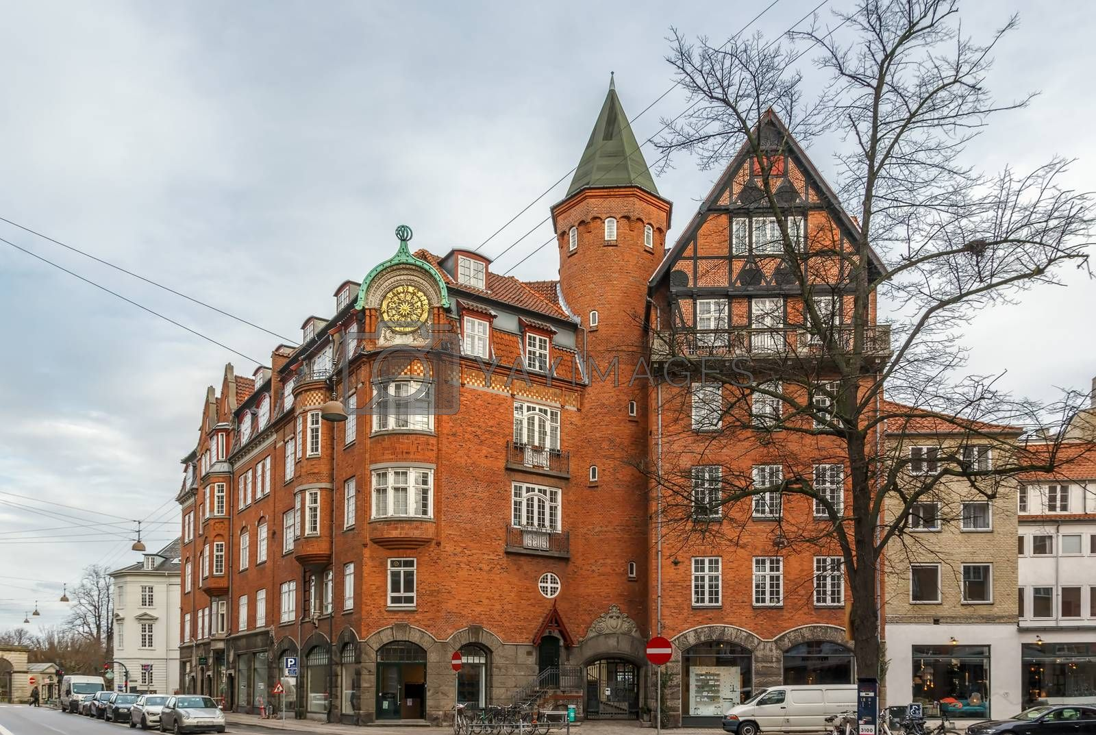 street in Copenhagen by borisb17