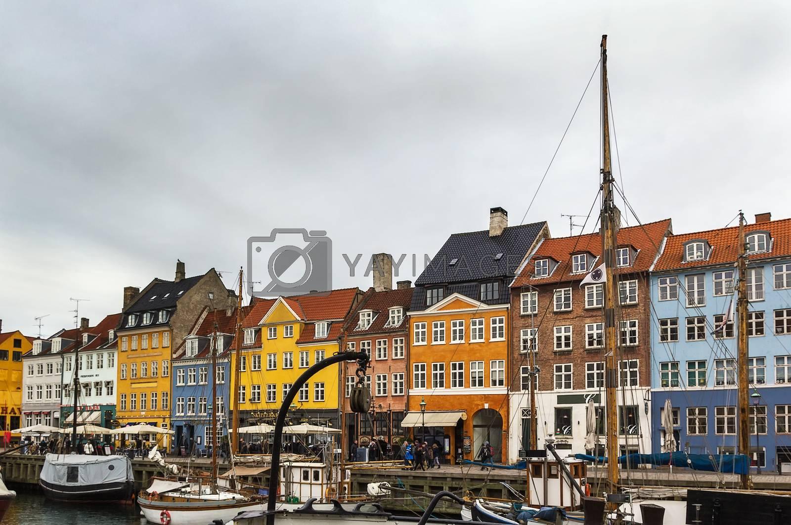 Nyhavn, Copenhagen by borisb17