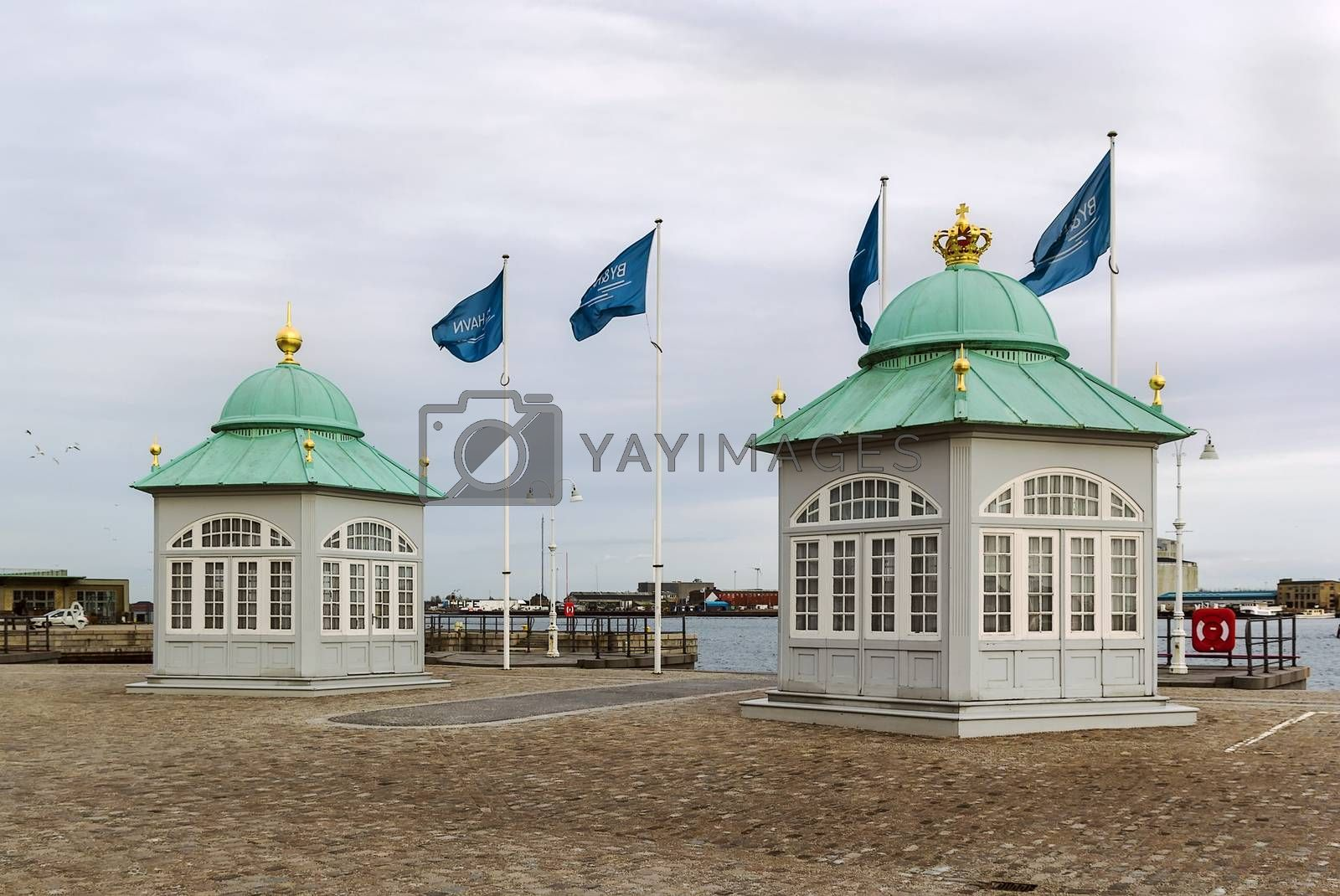 Royal Pavilions, Copenhagen by borisb17