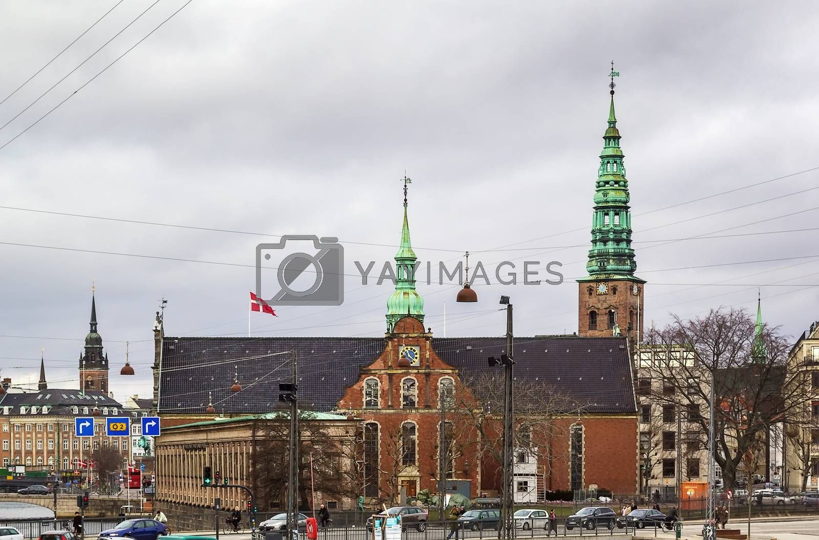 Church of Holmen, Copenhhagen by borisb17