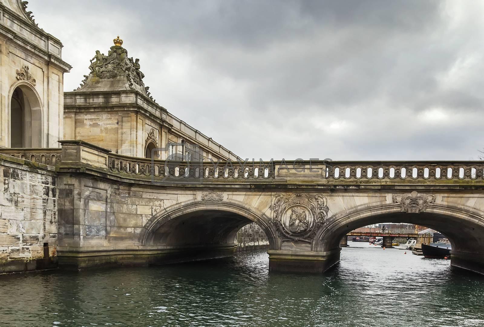 The Marble Bridge, Copenhagen by borisb17