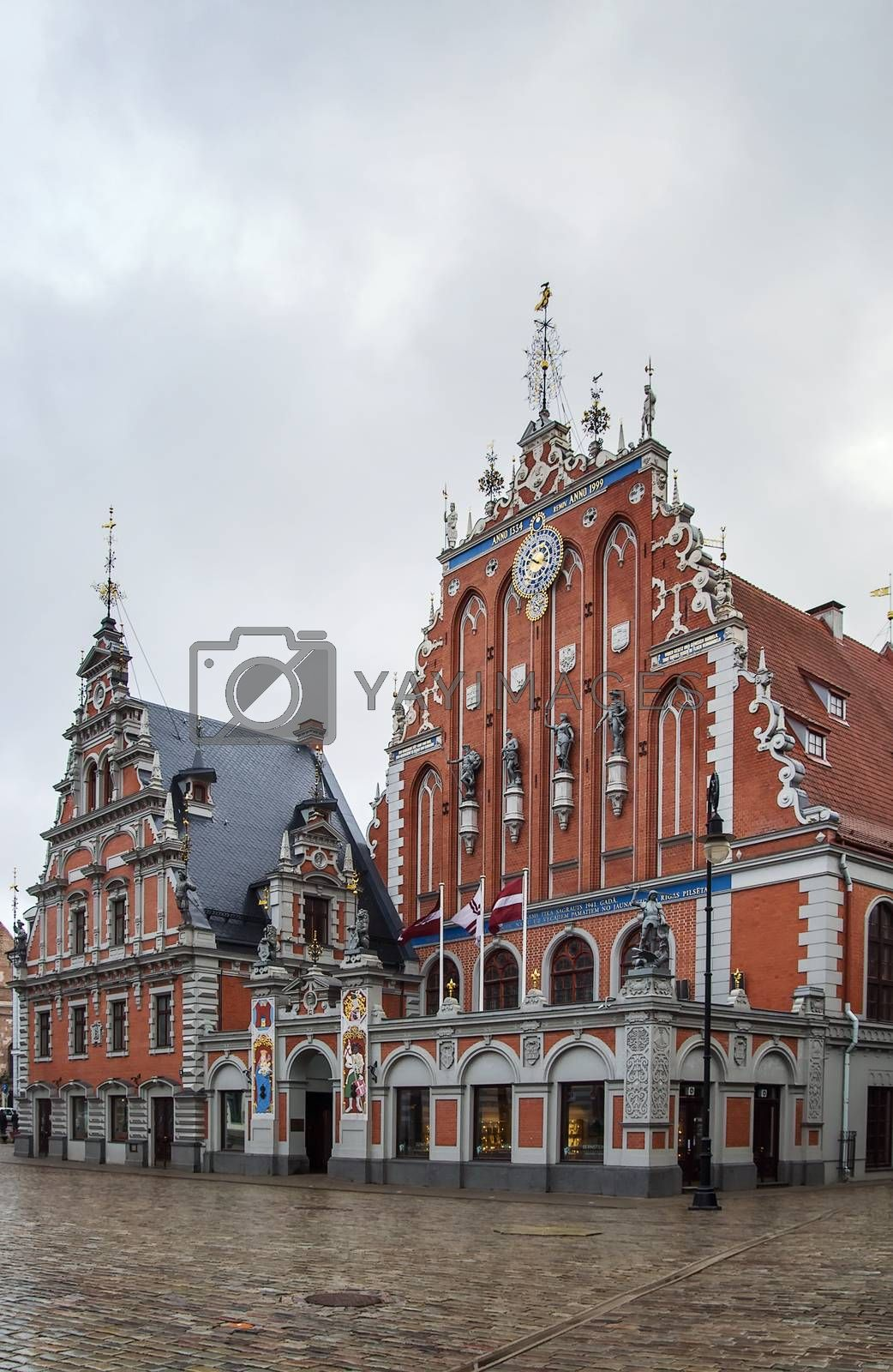Brotherhood of Blackheads  building, Riga  by borisb17