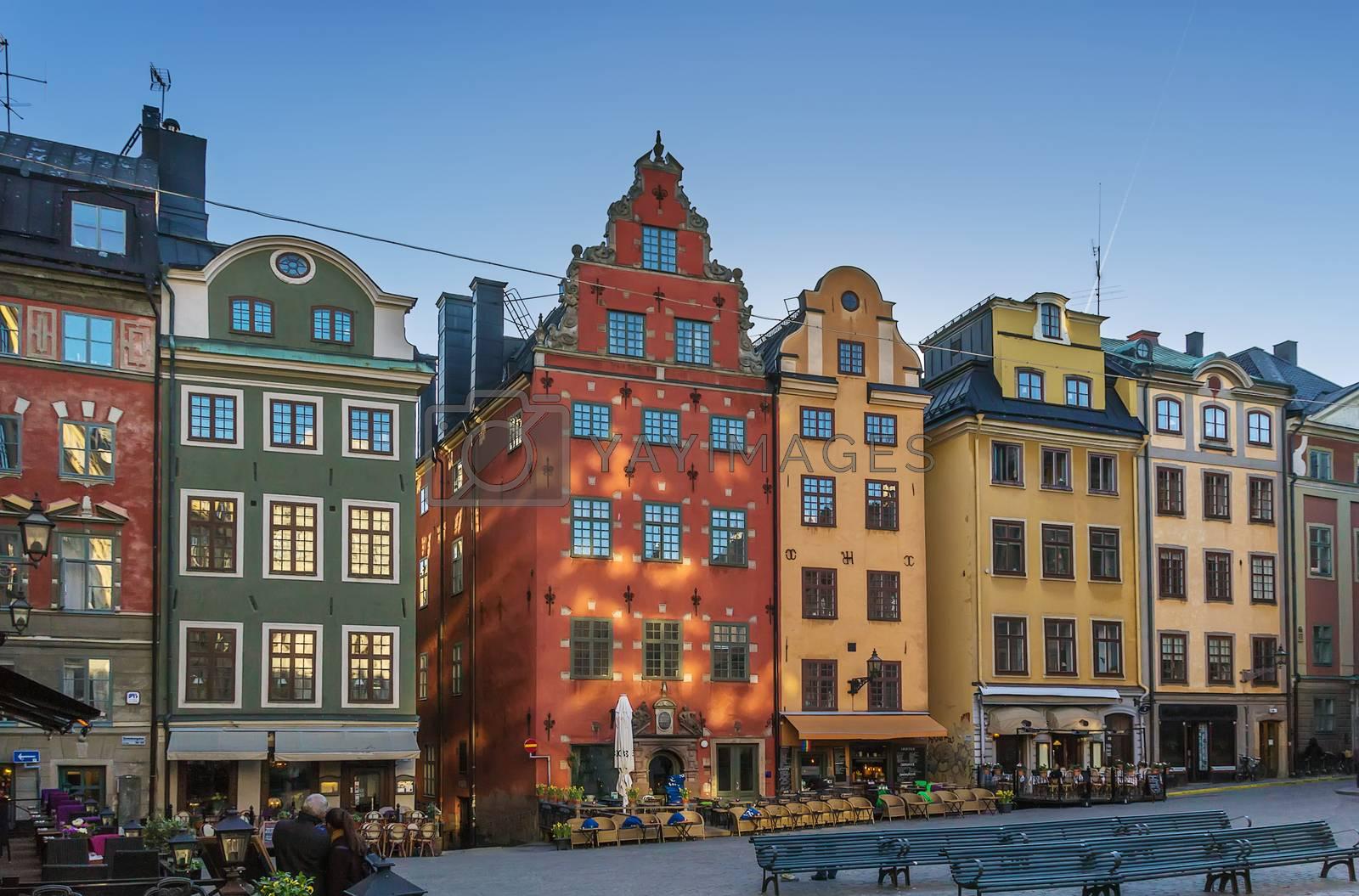 Stortorget, Stockholm by borisb17