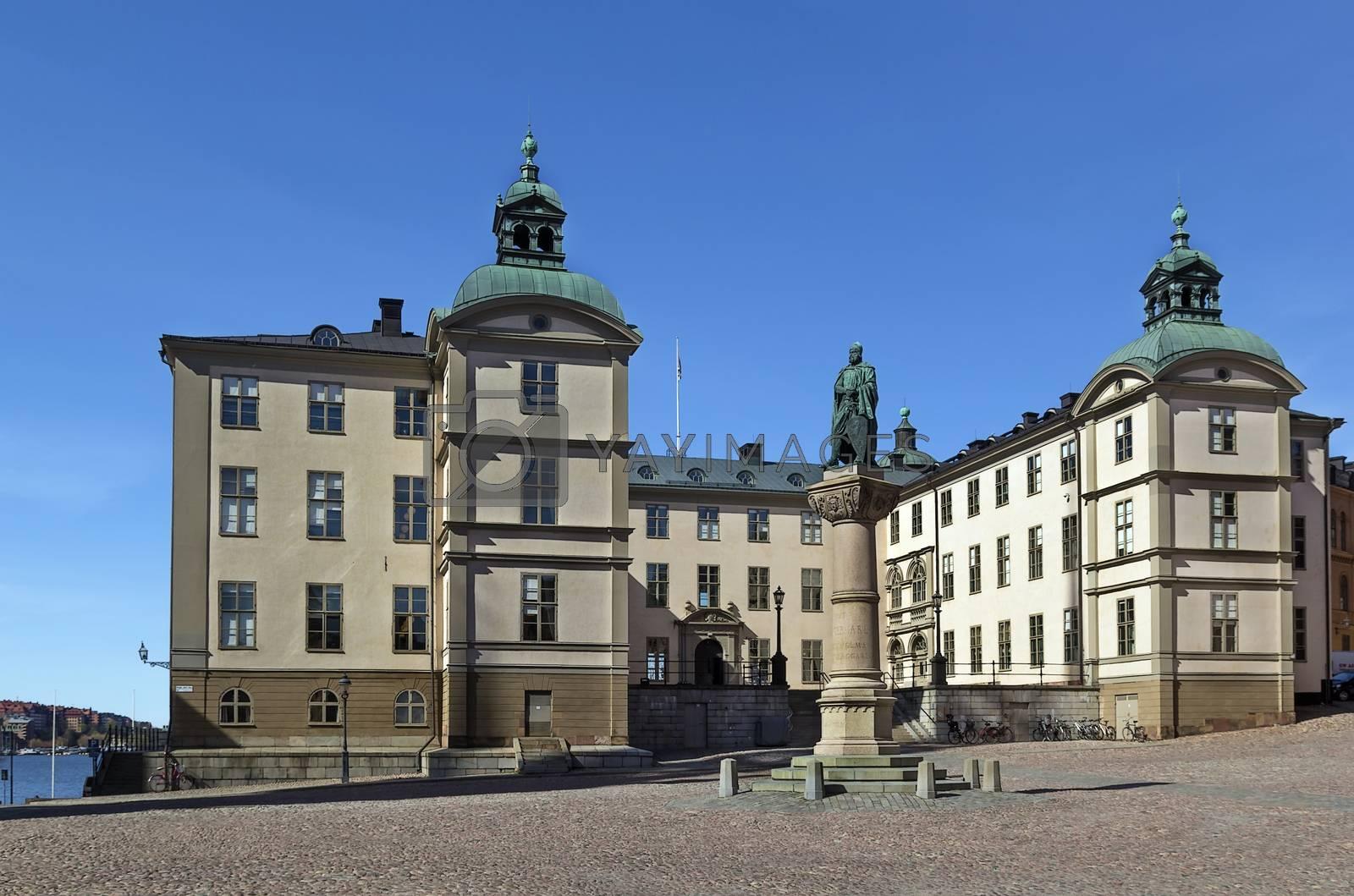Wrangel Palace, Stockholm by borisb17
