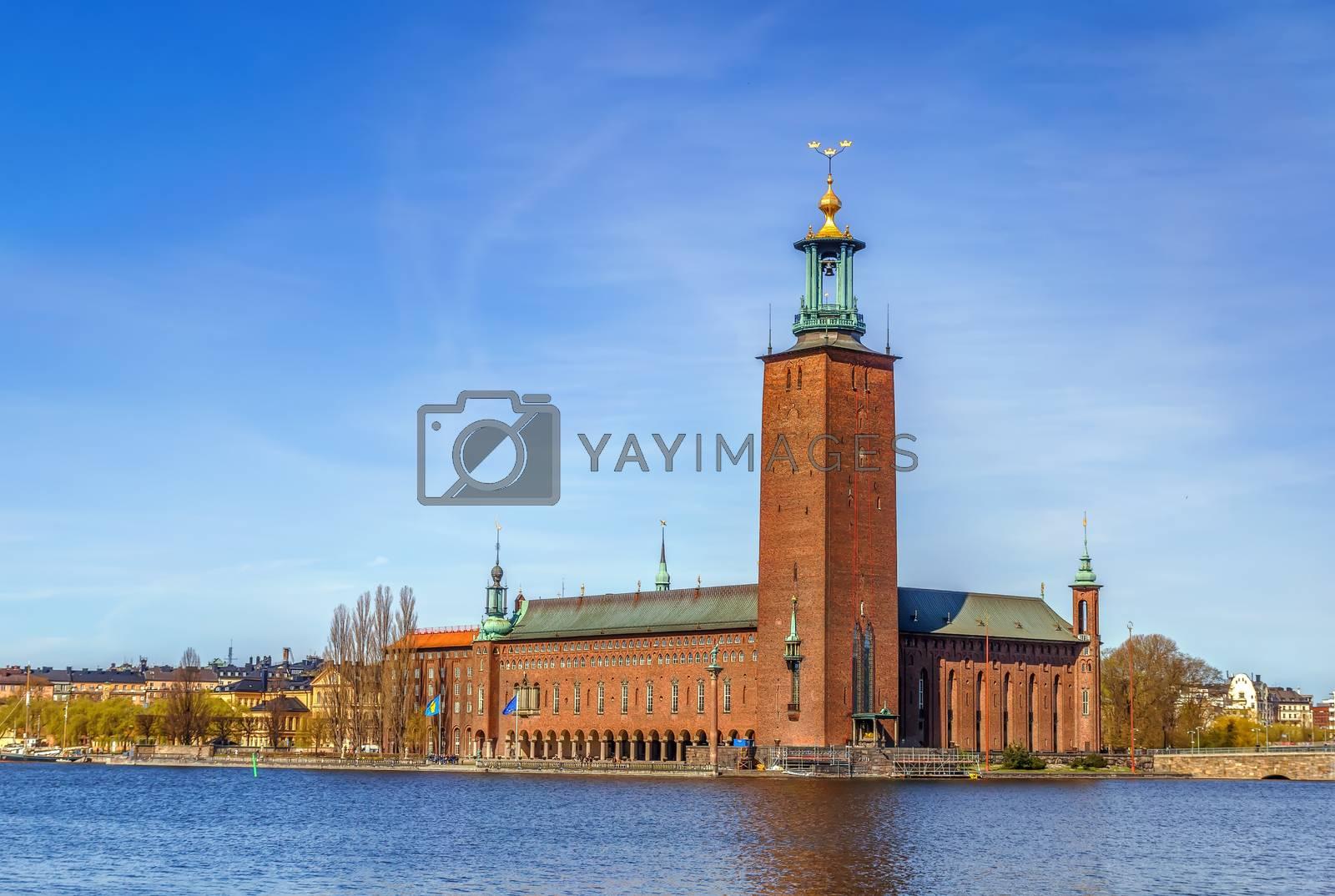 Stockholm City Hall by borisb17
