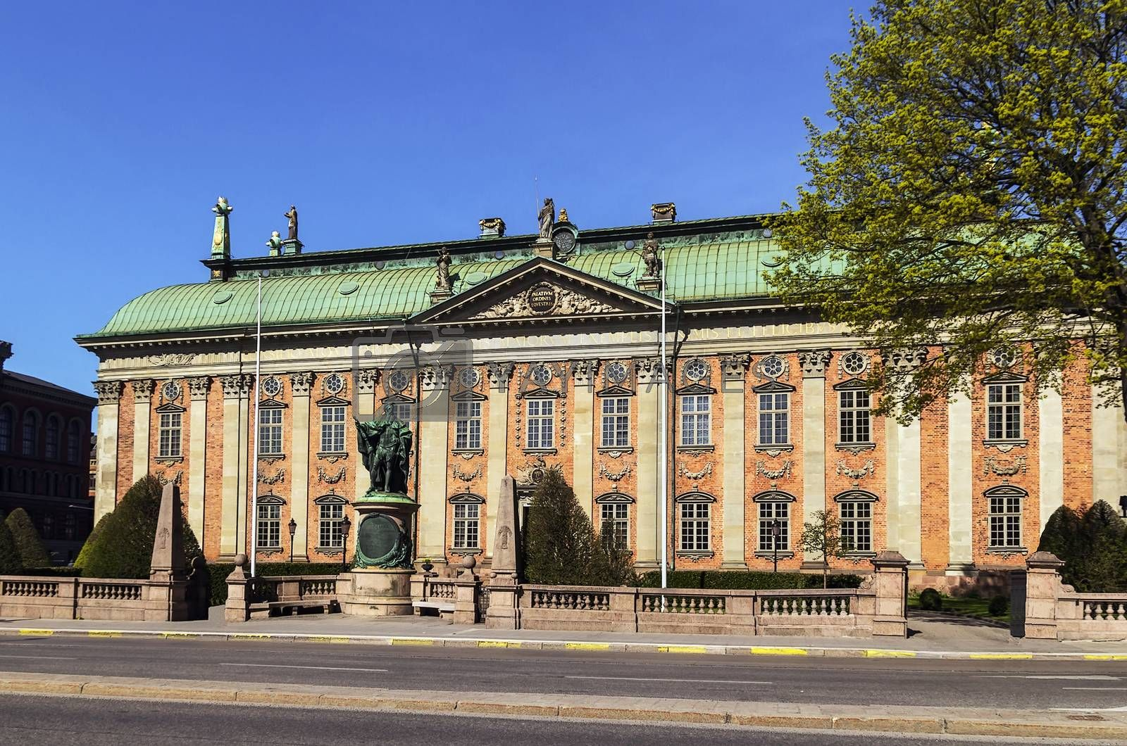 House of Nobility , Stockholm by borisb17