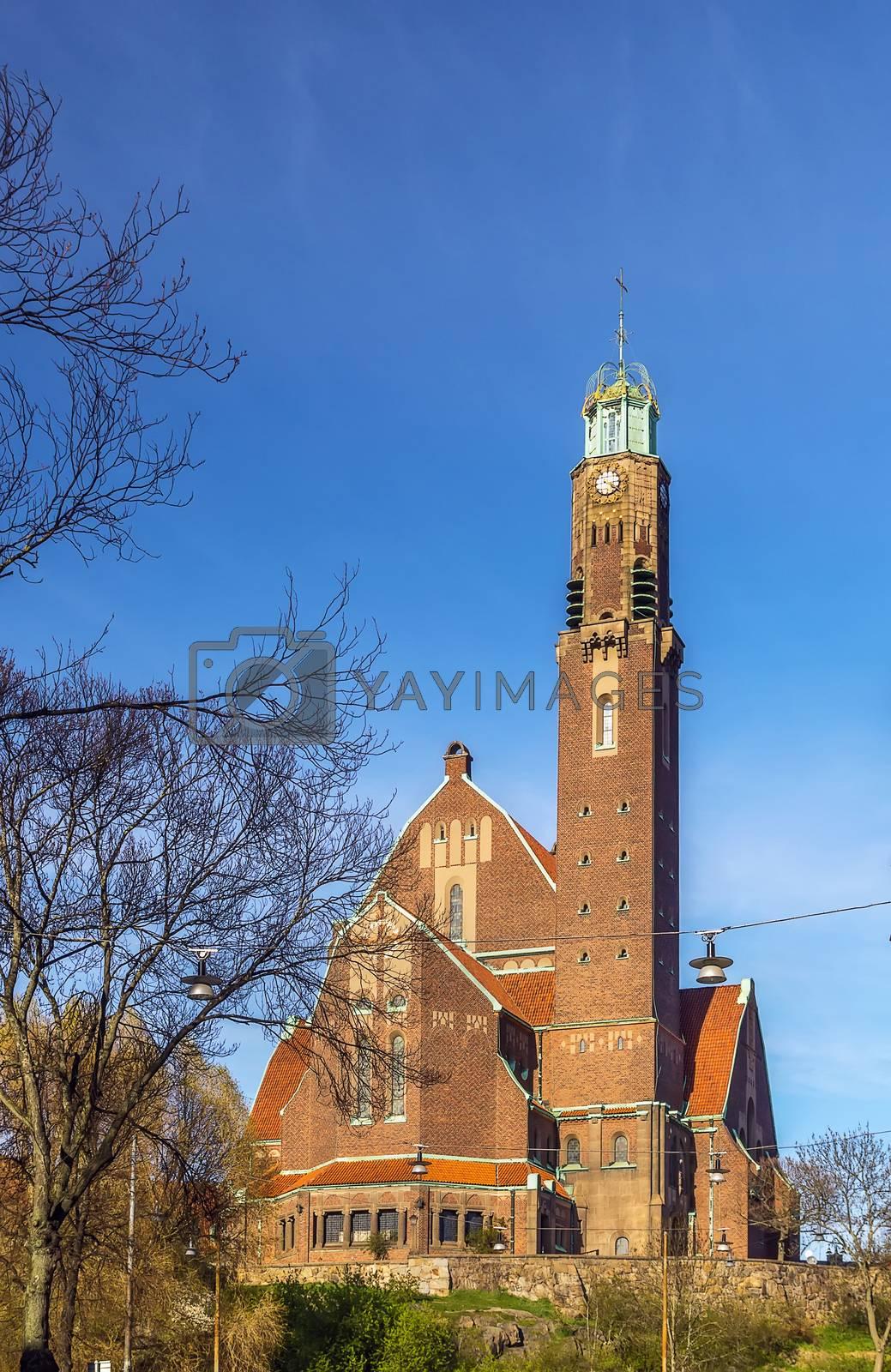 Engelbrekts church, Stockholm by borisb17